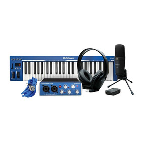 Kit Estudio Grabación Presonus Music Creation Suite. Jams