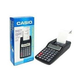 Calculadora De Mesa Casio Com Bobina Impressão