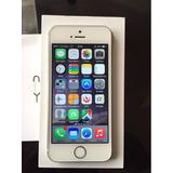 Iphone 5s 16gb Plata, Como Nuevo, Sensor De Huella Y Factura