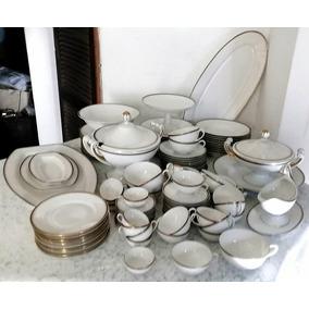 Servicio Mesa Porcelana Bavaria 80 Piezas Para 10 Personas