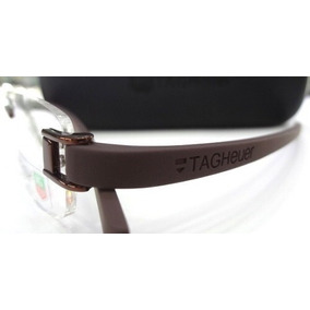 Armacao Oculos Masculino Redondo Tag Heuer - Óculos no Mercado Livre ... af1a1e677e