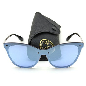 f38e015ccb006 Marco Óptico Ray Ban Acetato Negro (rx ). RM (Metropolitana) · Gafas De Sol  Ray-ban Rb3580n Blaze Cat Eye Mirror 90391u,.