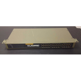 Switch Lanpro Modelo Lp-sw2400 24 Ports 10/100m Fast Etherne
