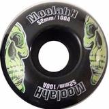 Ruedas Skate Moolahh 52mm 100a Pack X4