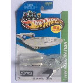 Star Trek Hot Wheels U.s.s. Enterprise Ncc-1701