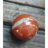 Impecable Esfera De Jaspe Rojo, Única Origen Grecia .