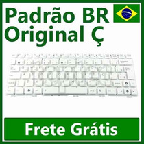 Teclado Netbook Asus Eee Pc Original 1025 Flare Sem Frame