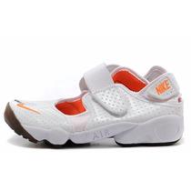 Nike Rift, Pesuñas, Blanco Naranja, Originales En Caja!