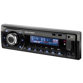 Auto Rádio Automotivo Talk Multilaser P3214 Bluetooth - Mp3
