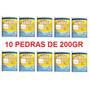 10 Pedras Tablete De Cloro Para Piscinas 5x1 200gr Promoção