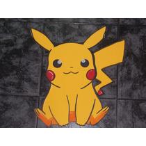 Figuras En 50 Cm En Goma Eva Pokemon Pokebola Pikachu