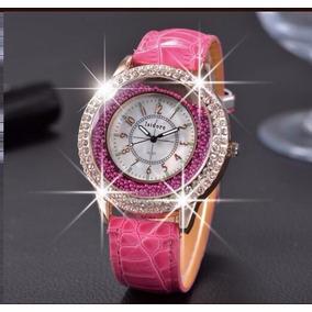 Relógio Feminino Rosa Importado Marca Isidore Original