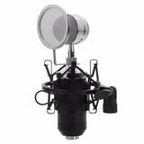 Micrófono Condensador Bm-8000 Sound Super Studio Profesional