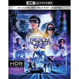 Ready Player One 4k 2 Blu Ray Nuevo En Stock Importado
