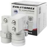 Lnb Duplo Kit Carona 2x1 Evolutionbox Ev-ultracaron02