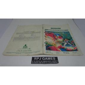 Só O Manual Do Berzerk Original Atari Americano - Loja Rj