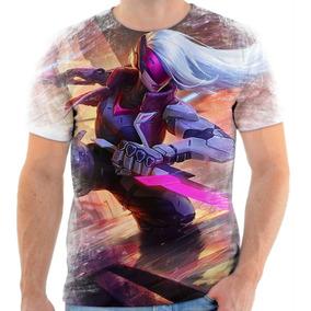 Camiseta Camisa League Of Legends Lol Projeto Katarina 01