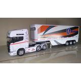 Scania R 730 Con Semi En Escala 1/32. .