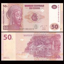 Congo Billete De 50 Francos Del Año 2013 - Pick#97 - Sc