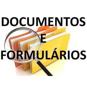 Modelos De Documentos E Formulários