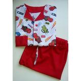 Pijama Cars Rayo Mcquen Talla 4