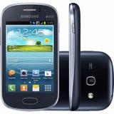 Samsung Galaxy Fame Duos Android 4gb Tela 3.5 Grafite