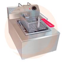 Freidora Eléctrica Industrial De 4.5 Litros Z Minifry Sanson