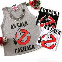 Regata Feminina T-shirts (várias Estampas E Cores)