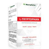 L-tryptophan 500mg Macrophytus - 30 Caps