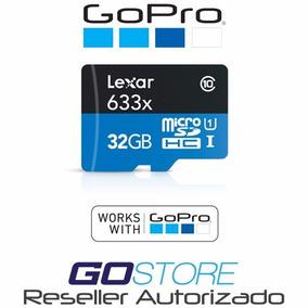 Memoria Micro Sd Lexar 633x Para Gopro 32gb - Reseller Aut.