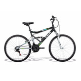 Bicicleta Aro 26 Caloi Ks Full Suspension 21v Black Friday