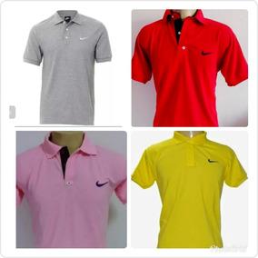 8d8c3f71c2 Kit 4 Camisas Gola Polo Camiseta De Marca Masculina Barata. R  119