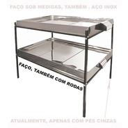 Marmiteiro Eletrico 50 Marmitas 110 Ou 220 Volts Aço Inox ;)