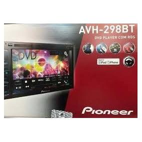 Dvd Multimidia Pioneer Avh 298 Bt 2 Din Honda Civic 07/11