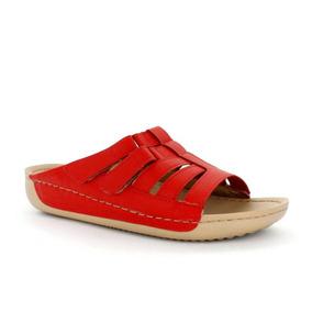 Sandalia Para Mujer Picadilly 460043-042859 Color Rojo