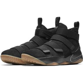 Nba Nike Tenis Lebron James Soldier 11 Soldier Xl Negros
