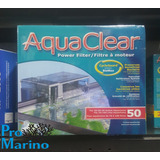 Filtro Cascada Aquaclear 50 P/ Acuarios De Hasta 189 Litros