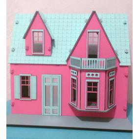 Casinha De Bonecas Para Polly E Barbie Pocket