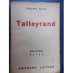 Talleyrand - Franz Blei