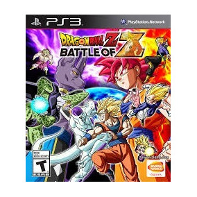 Jogo Ps3 Dragon Ball Z - Battle Of Z (novo)