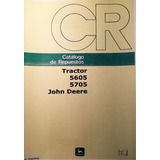 Manual De Repuestos Tractor John Deere 5705 Y 5605