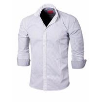 Valkymia Camisa Entallada Lautaro Algodón Premium