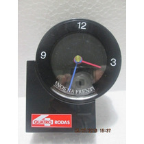 Relógio Mesa Comemorativo Revista Quatro Rodas 35 Anos 1995
