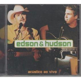 Cd Edson E Hudson** Acústico Ao Vivo