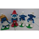 Smurfs Biscuit - Miniaturas Perfeitas De +/- 30cm - 4 Peças