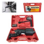 Desforcimetro Torqueador 780 Kgf Com 2 Soquetes 32mm E 33mm