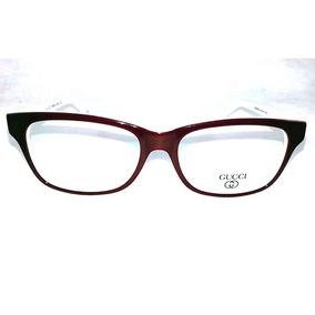 Oculos De Grau Feminino - Óculos Armações Gucci no Mercado Livre Brasil 2fef637535