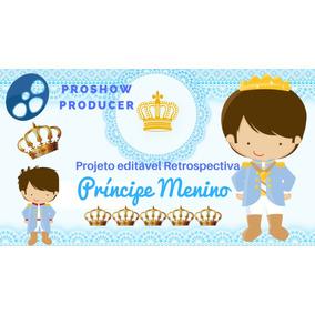 Projeto Proshow Editável Retrospectiva Príncipe Azul 100fts