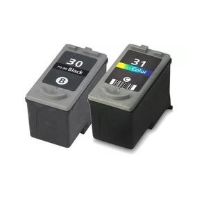 Kit Cartucho Canon Pg30 + 31 Para Impressora Mp140, Mp 140