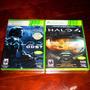 Lote 2 Vj Halo 3 Odst Y Halo 4 Edición Juego Del Año Nuevos